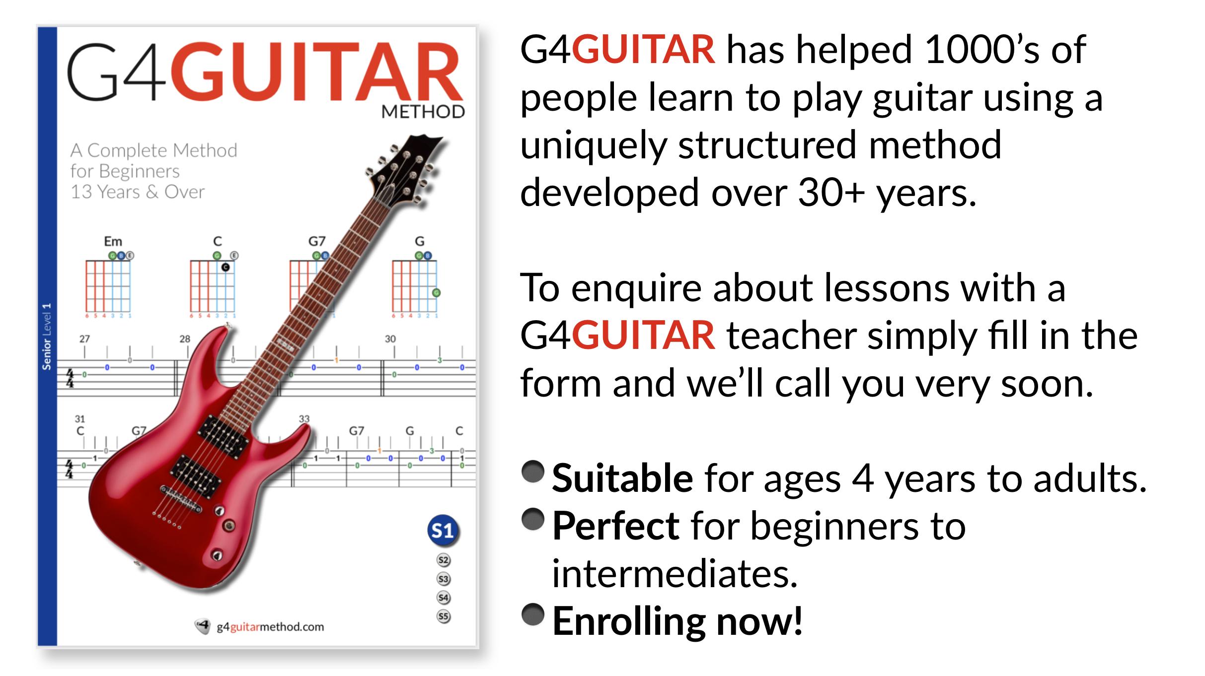 G4 Guitar Method